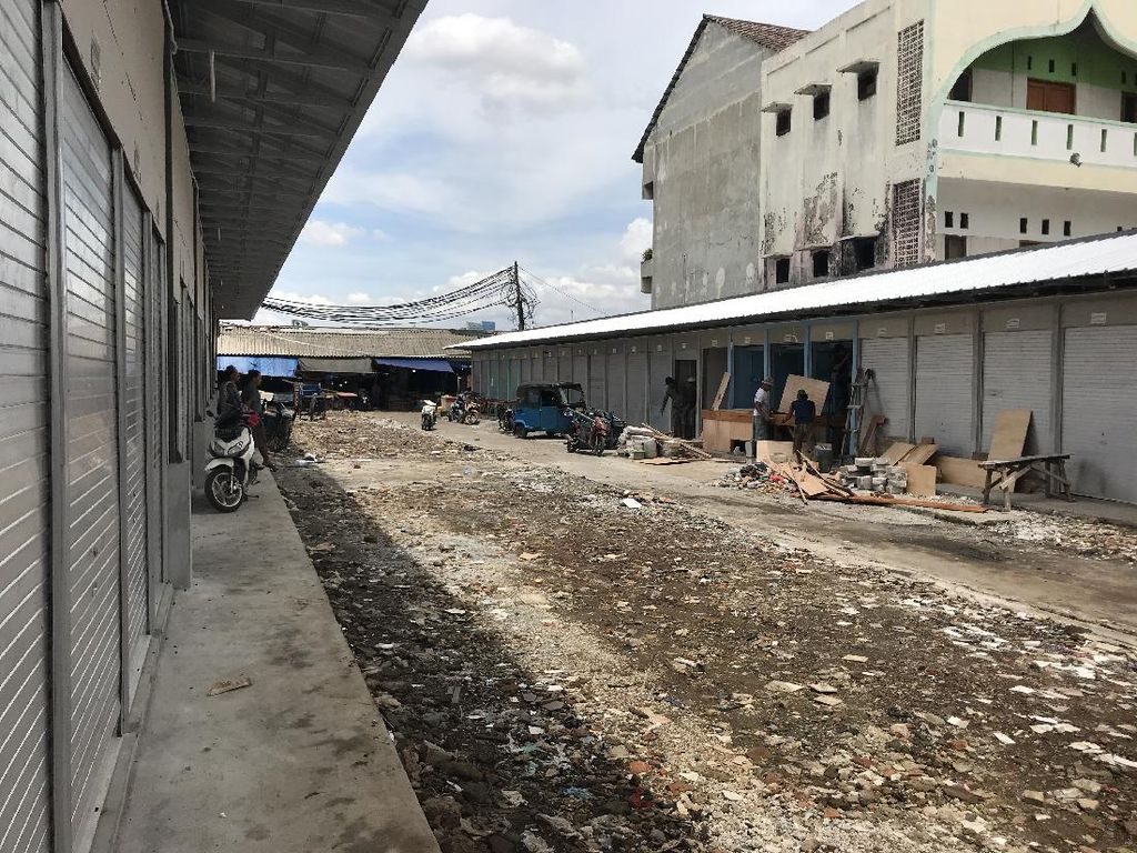 Renovasi Pasar Kambing Tanah Abang Selesai, Pedagang Dapat Nomor Kios-Lapak