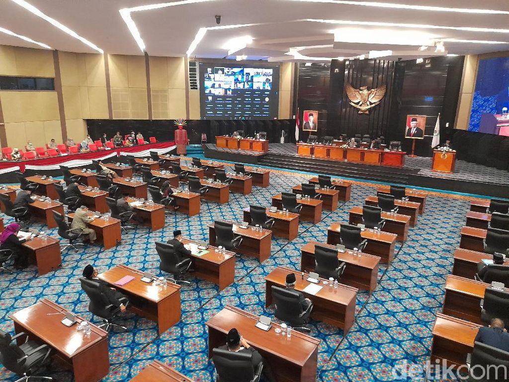 Sempat Dikritik, Anies Kini Hadiri Paripurna DPRD DKI Bahas APBD-P