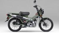 Motor Petualang Honda CT125 Dapat Pilihan Warna Baru, Lebih Laki!