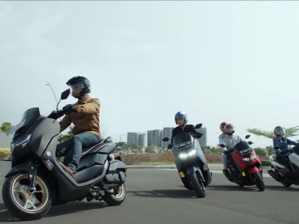 Salut! Komunitas Nmax RI Jalin Kekerabatan dengan Bikers Eropa-Amerika