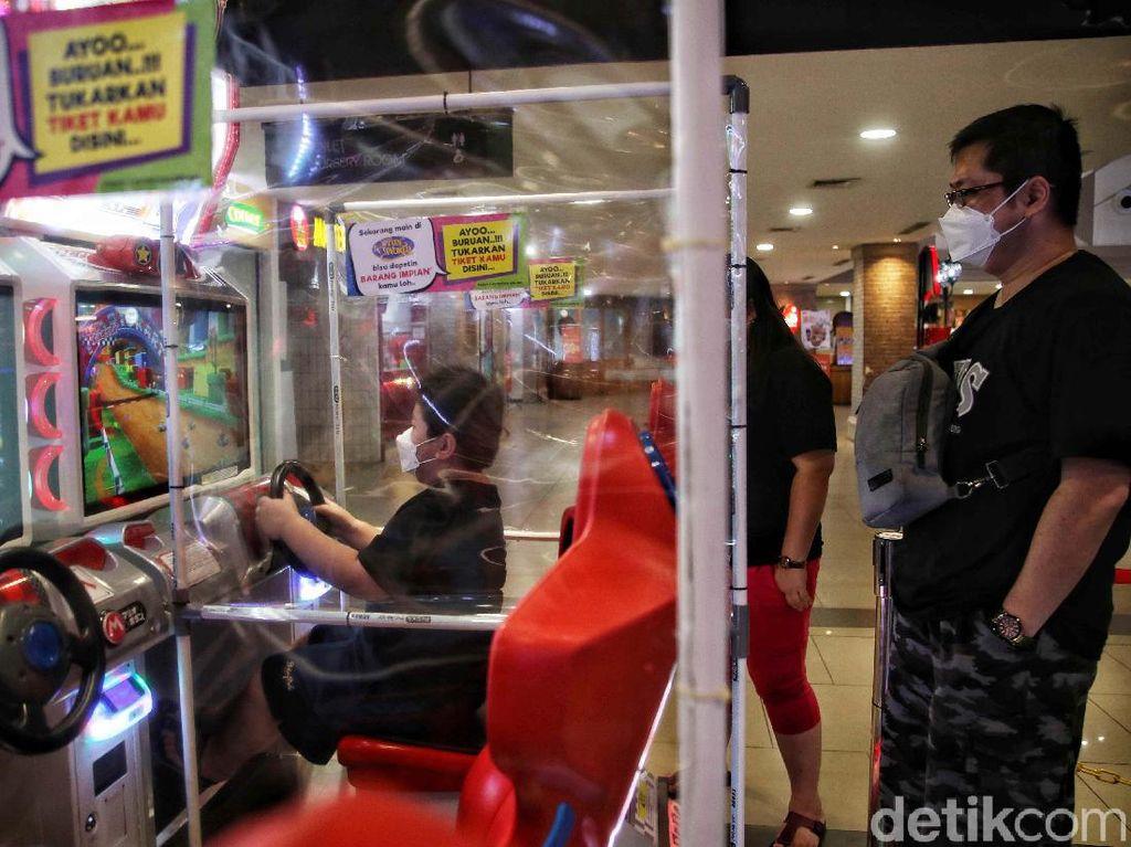 Permainan Anak di Mal DKI Dibuka, Ortu Wajib Catat Alamat dan Nomor HP