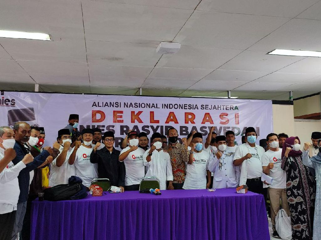 Gerindra-NasDem DKI Nilai Deklarasi Anies Capres Terlalu Dini