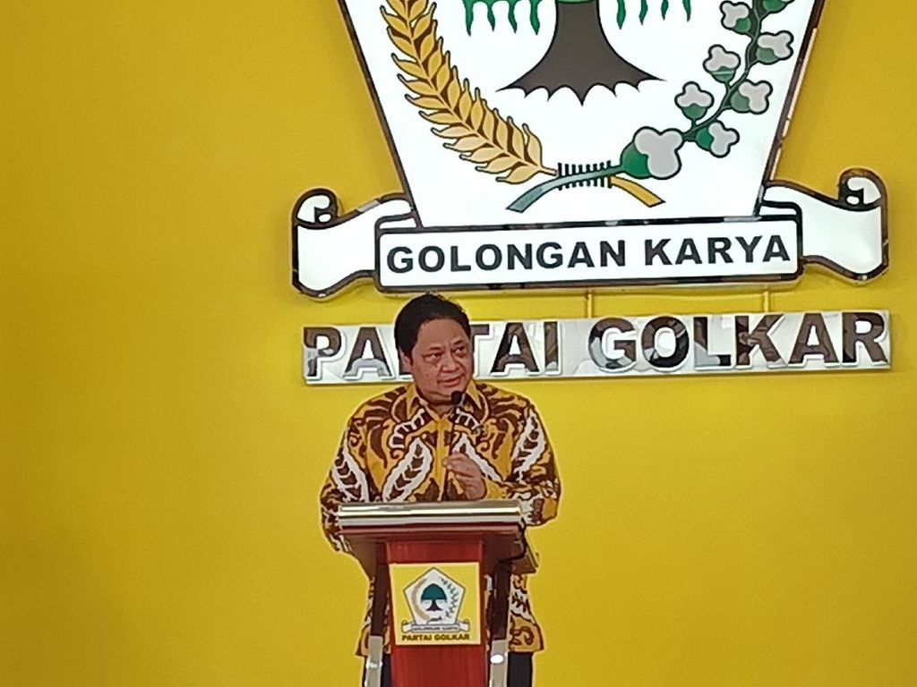Menuju Pemilu 2024, Airlangga: Golkar Harus Menang!
