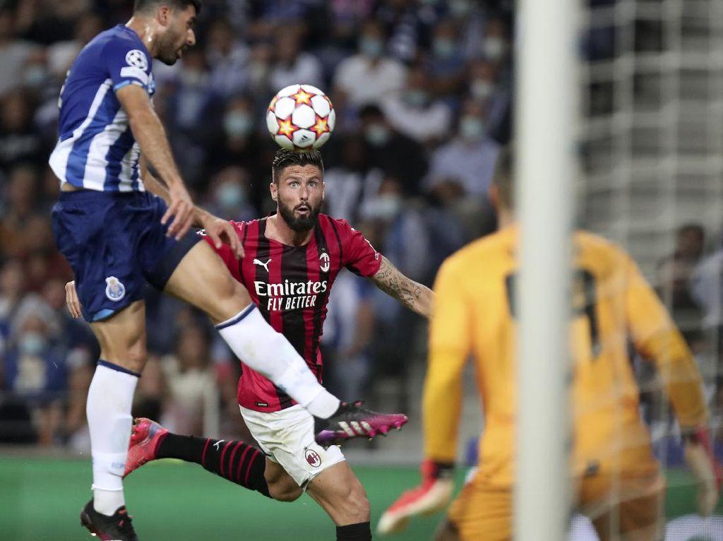 Babak Pertama: Porto Vs Milan Masih Tanpa Gol