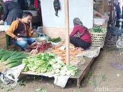 Pasar Darurat Banjarnegara Banjir Dini Hari Tadi, Begini Kondisi Saat Ini
