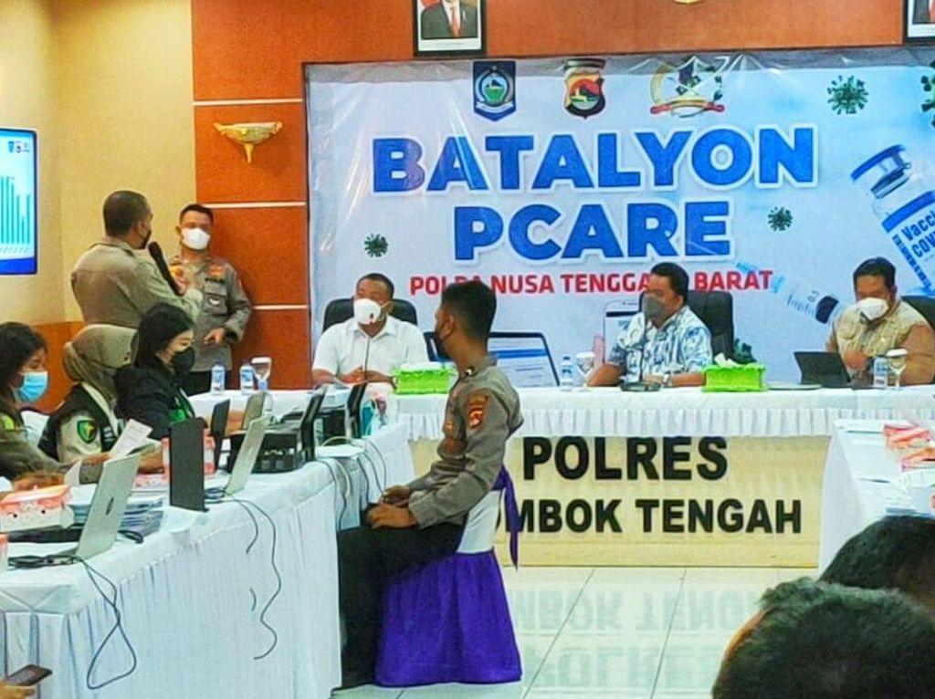 Gagasan Batalion P-Care Polda NTB Diapresiasi Kemenkes