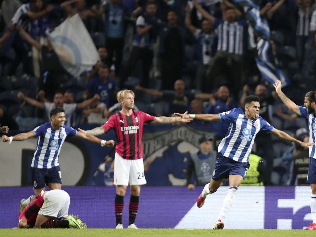 Liga Champions: Porto Tekuk AC Milan 1-0