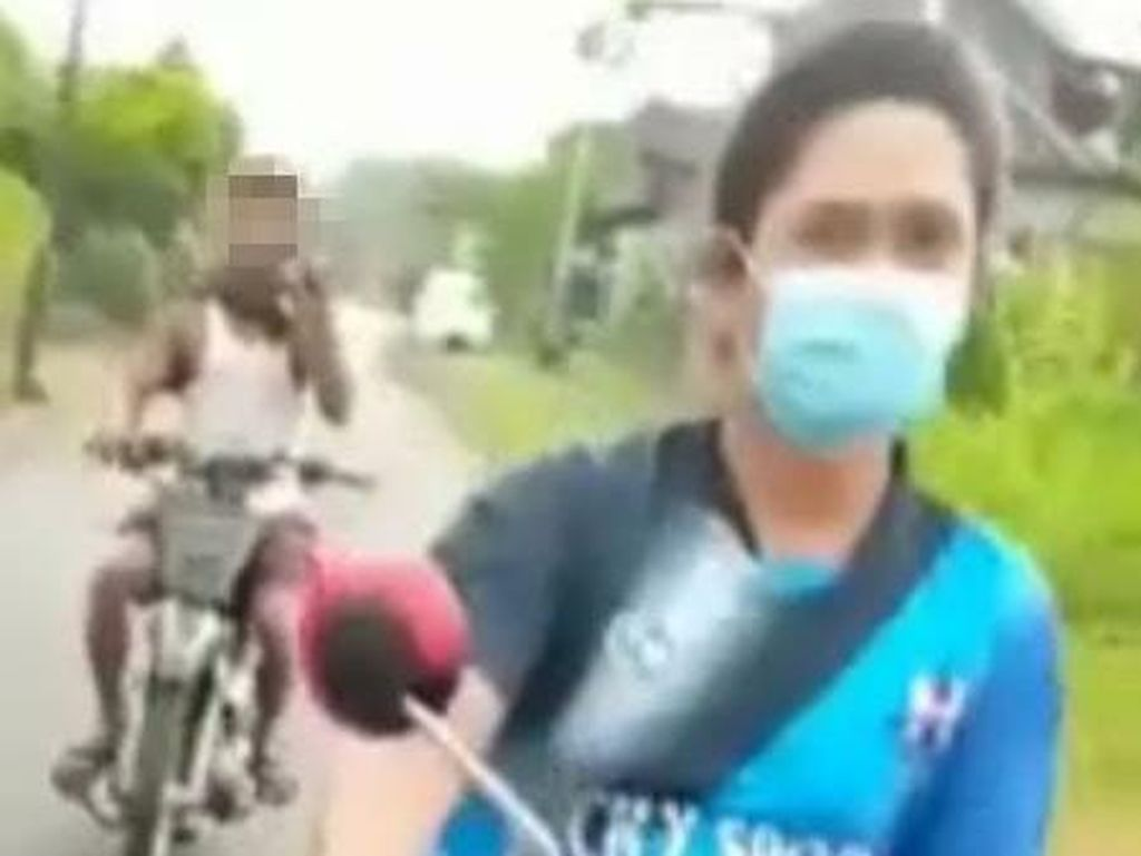Pria di Banyuwangi yang Berkendara Sambil Onani Diburu Polisi