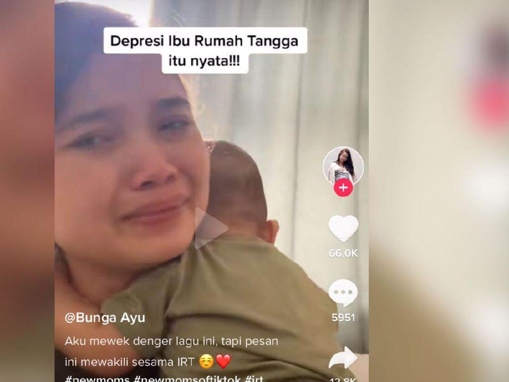 Kisah Viral Wanita Curhat Beratnya Jadi IRT, Beri Pesan Buat Korban Mom Shaming
