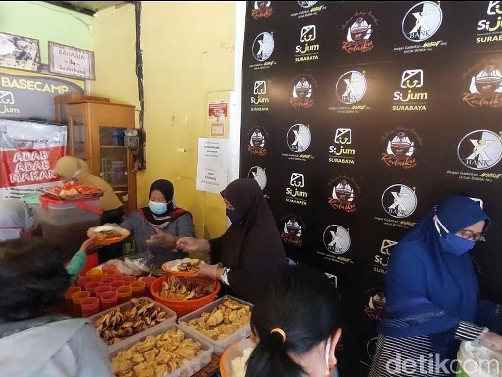 Warung Ikhlas Berkah di Surabaya, Pelanggan Senang Rp 2 Ribu Bisa Makan Enak