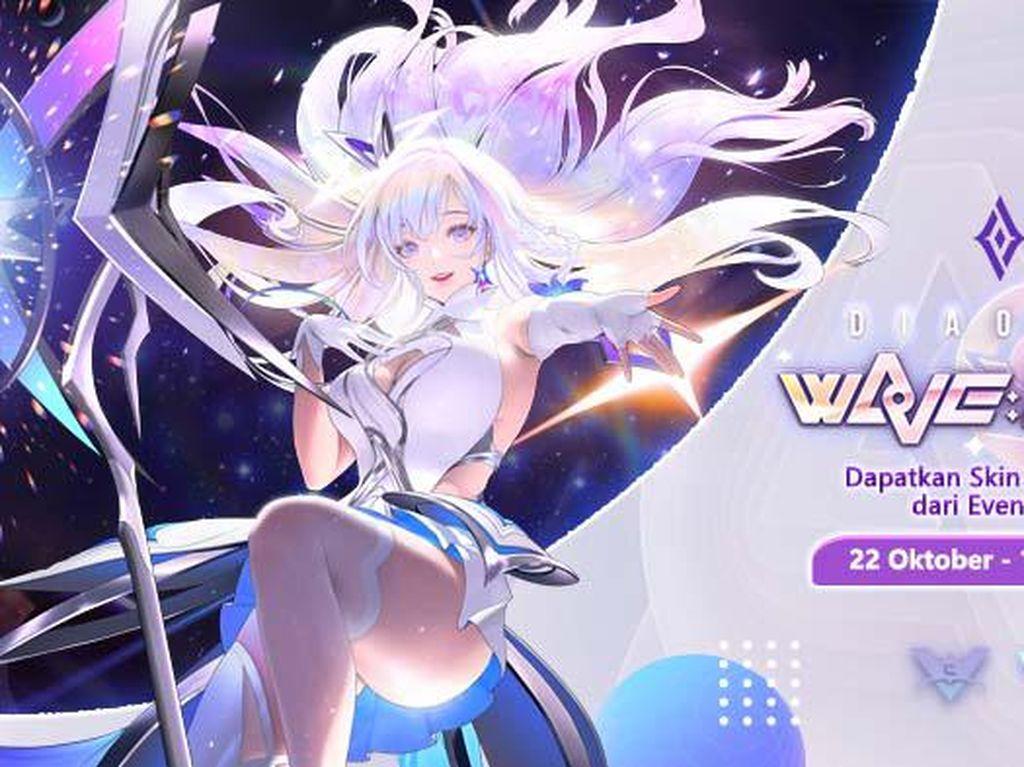 Dapatkan Skin WaVe: Diamond Diao Chan dari Event Arena of Valor