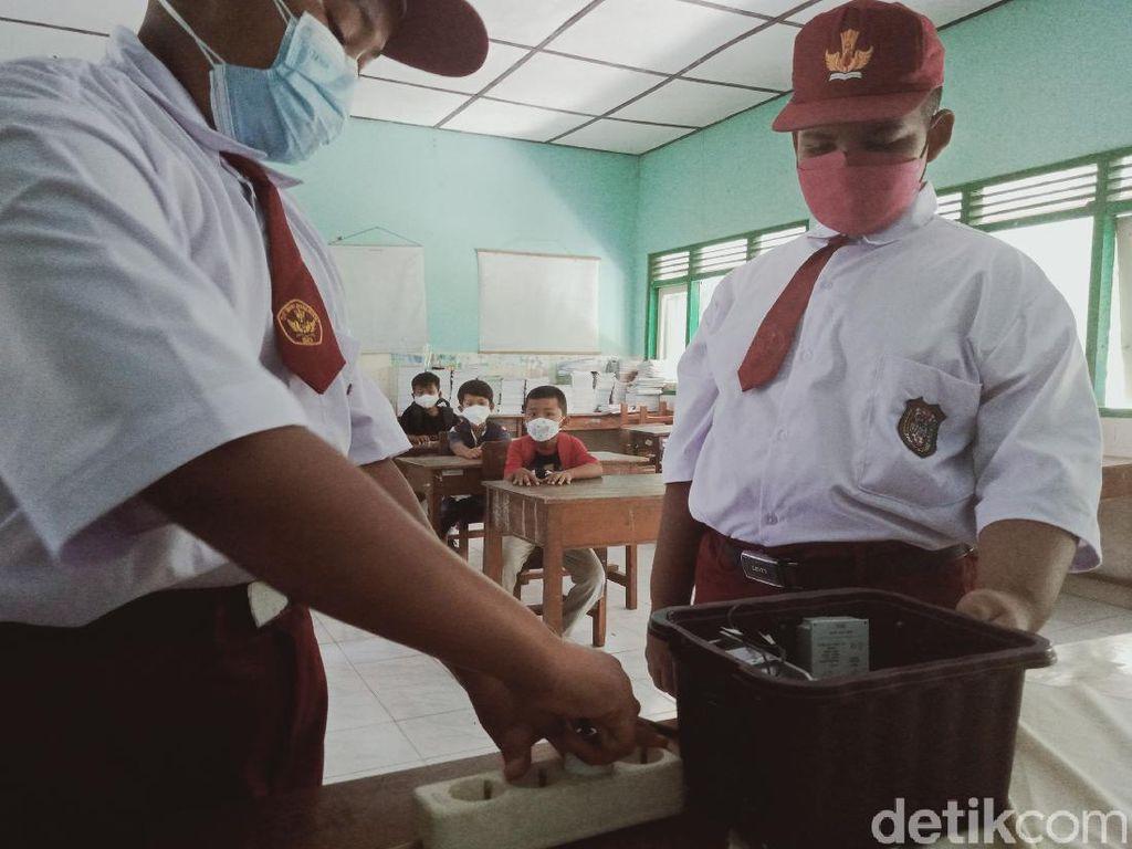 Keren! Siswa SD di Klaten Ini Berhasil Buat Generator Penangkal COVID-19