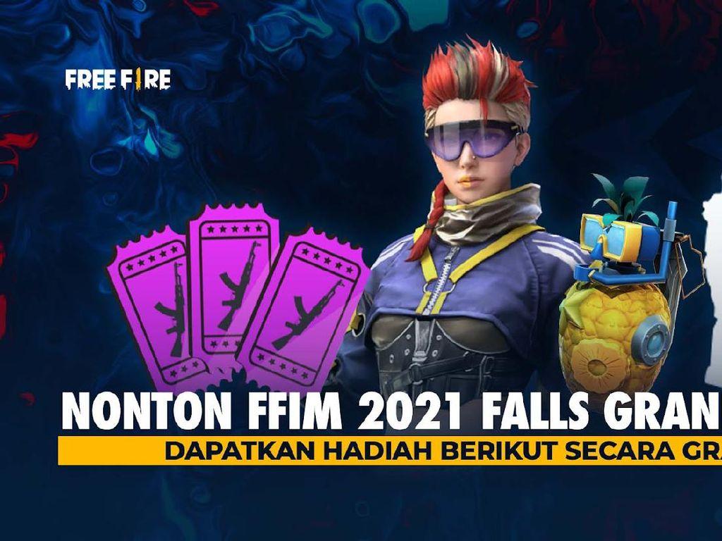 Nonton Free Fire Indonesia Master 2021 Fall, Bisa Dapat Item Gratis Lho