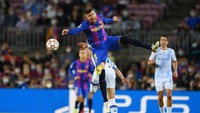 Barcelona Vs Dynamo Kiev: Pique Antar Blaugrana Unggul di Babak Pertama