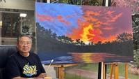 Hobi Baru SBY, Melukis Pemandangan
