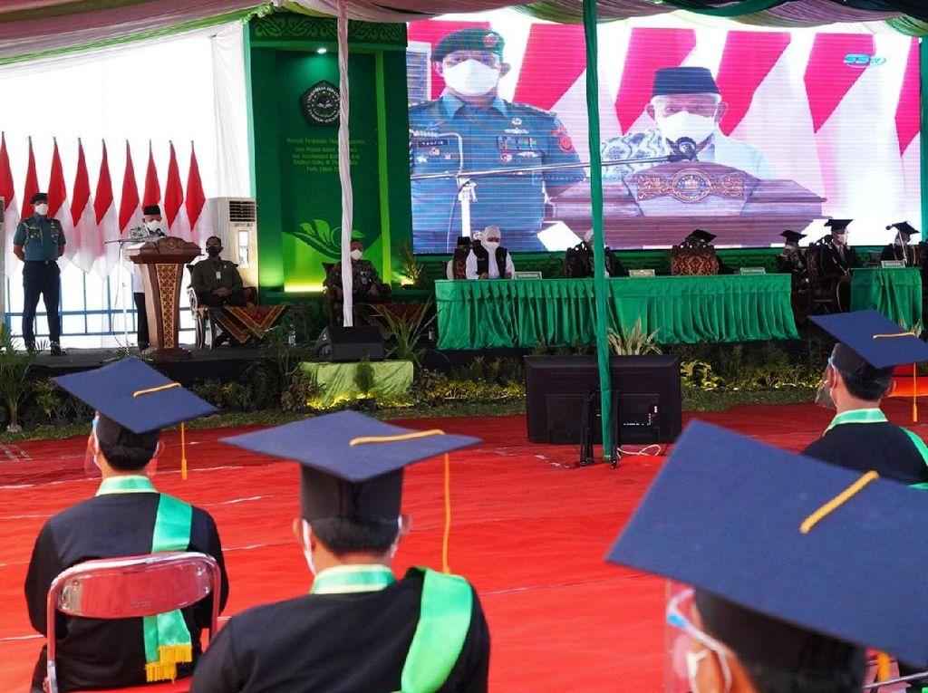 Wapres Orasi Ilmiah Minta Sektor Pendidikan Tingkatkan Kualitas-Kerjasama Riset