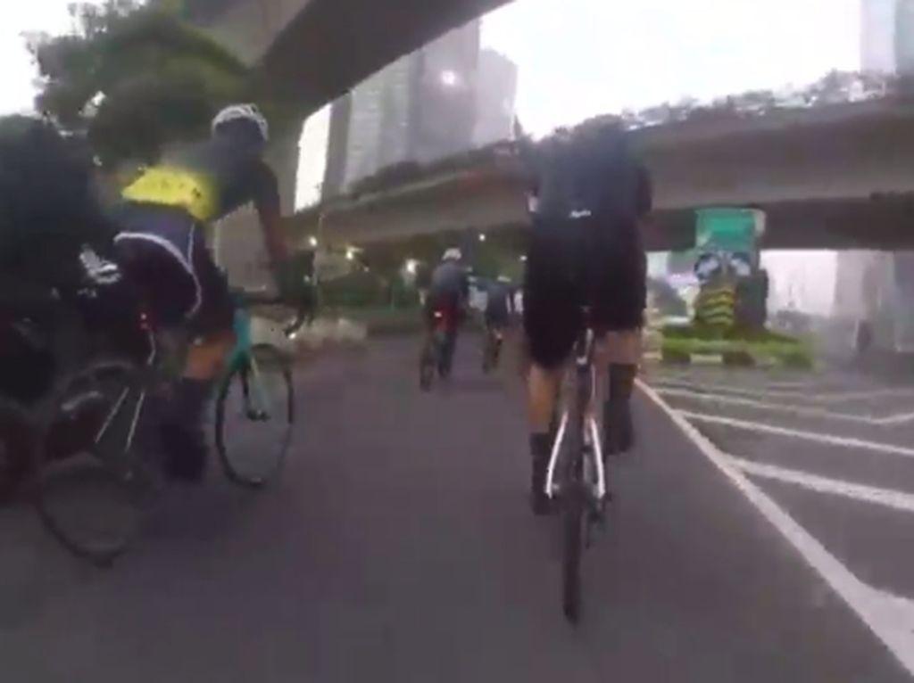 Heboh Jambret Kilat Road Biker di Sudirman, 1 Pelaku Ditangkap