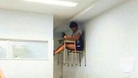 10 Kelakuan Aneh Bin Ajaib Murid Ini Kocak Abis, Bikin Kangen Sekolah
