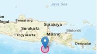 Gempa Berkekuatan M 5,3 Guncang Malang