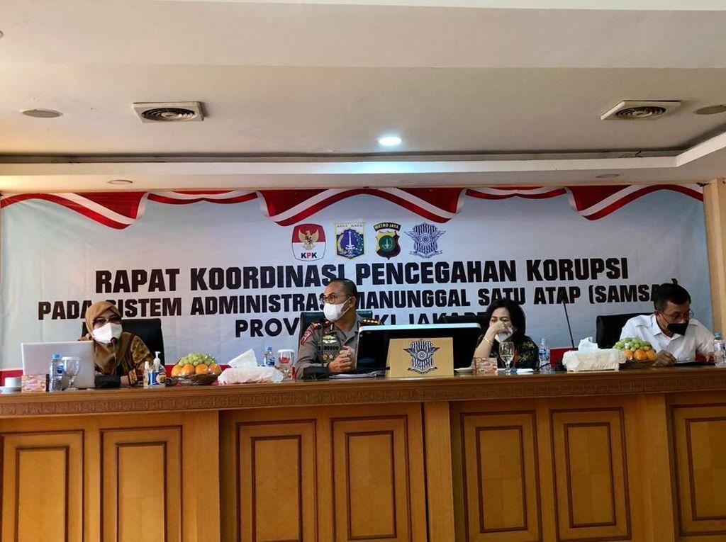 Cegah Korupsi di Samsat, KPK Koordinasi dengan Ditlantas Polda Metro