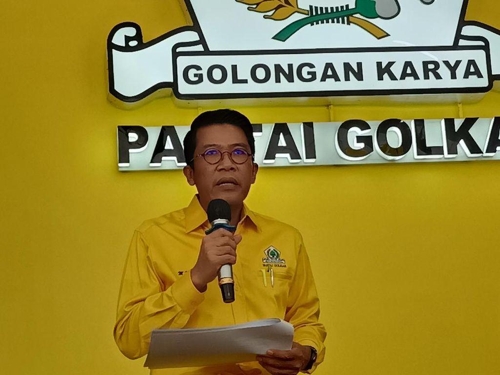Puji 2 Tahun Jokowi, Golkar Minta Pemulihan Sektor Kesehatan-Sosial Diteruskan