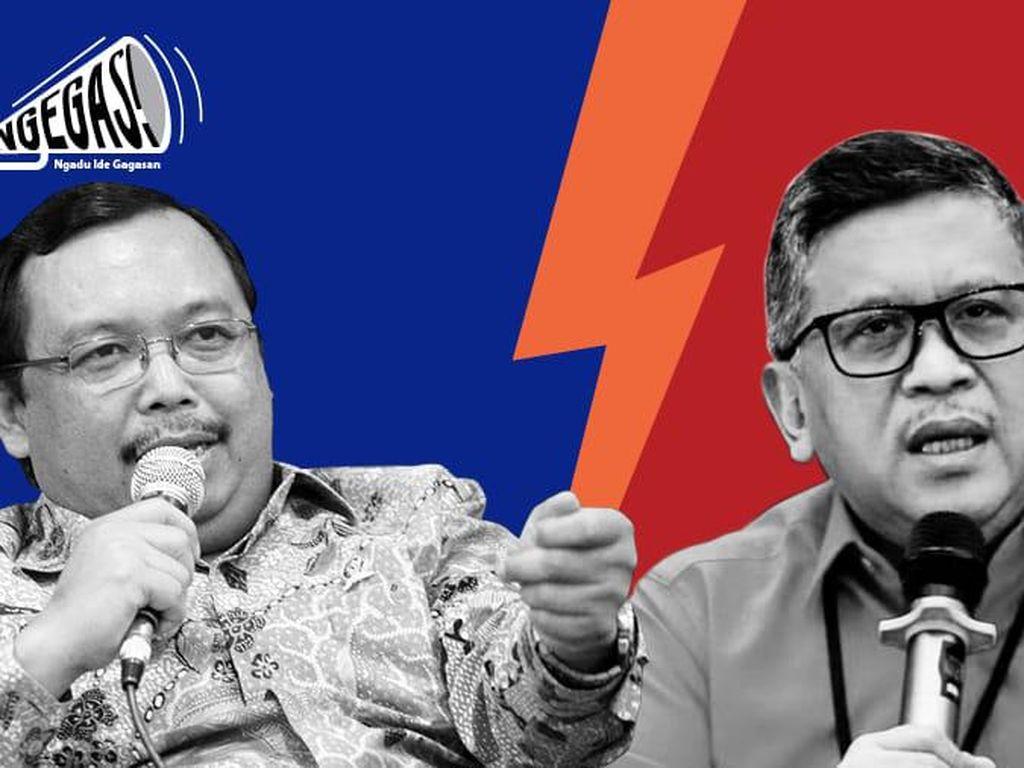 PDIP Sindir SBY, PD Tak Terima