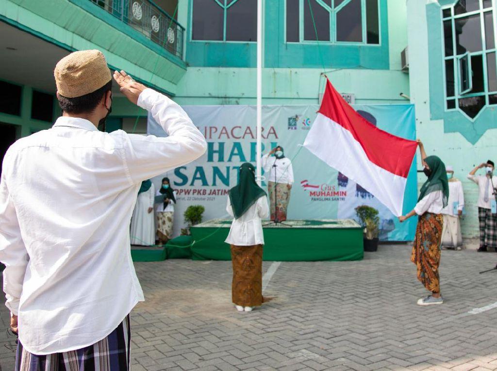 Peringati Hari Santri, PKB Jatim Gelar Drama Kolosal Resolusi Jihad NU