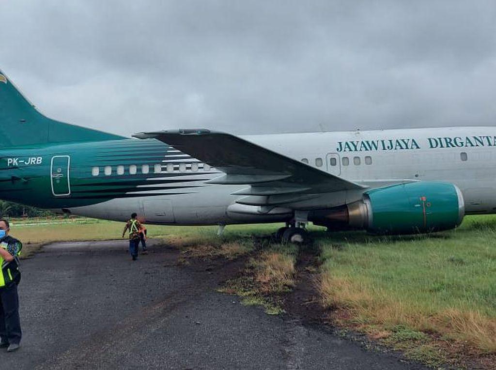 Ini Penyebab Pesawat Jayawijaya Dirgantara Tergelincir di Bandara Sentani