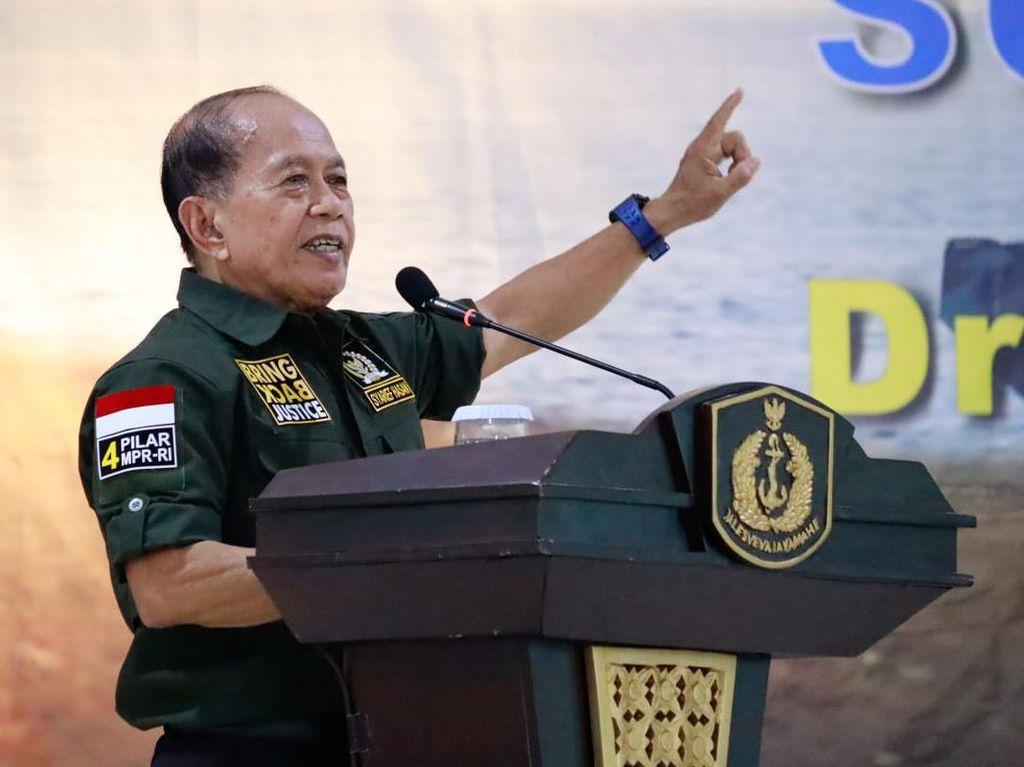 Sosialisasi 4 Pilar, Waket MPR Minta TNI Tak Berpolitik Praktis