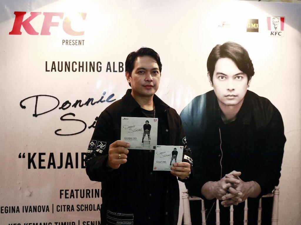 Donnie Sibarani Rilis Album Solo Bertajuk Keajaiban Cinta