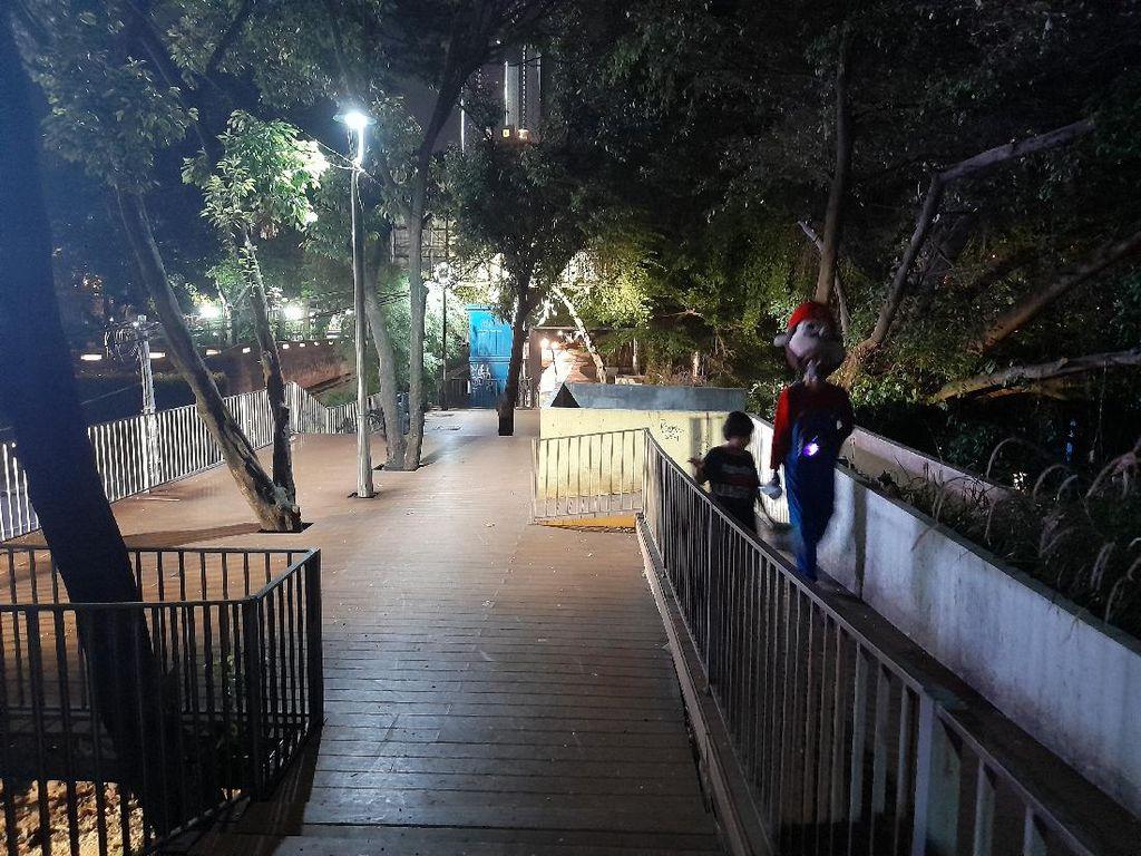 Lampu Mulai Ditambah, Ini Kondisi Lokasi Pelecehan Dekat Stasiun Sudirman