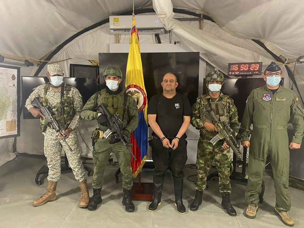 Momen Penangkapan Buron Bandar Narkoba Paling Dicari di Kolombia!