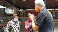 Ganjar Tak Sengaja Bertemu Risma di Makam Bung Karno: Tibake Ono Njenengan