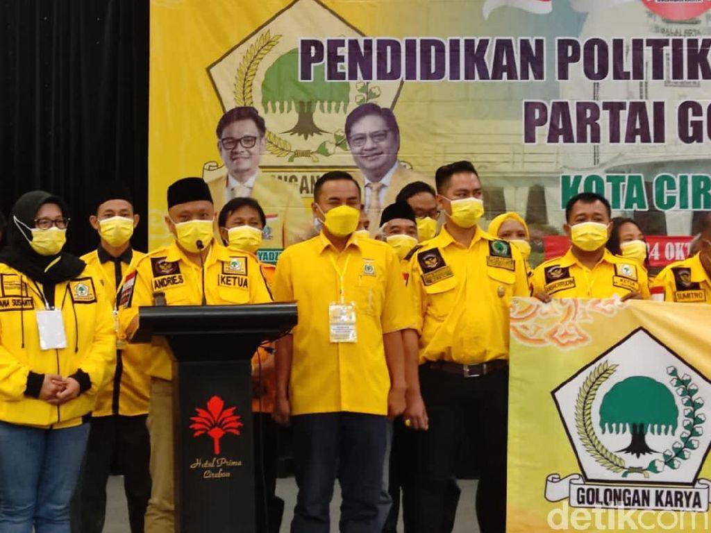 Golkar Kota Cirebon Deklarasikan Airlangga Jadi Capres 2024
