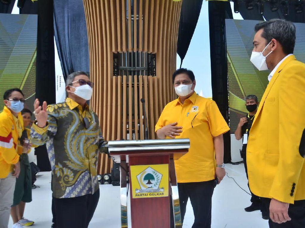 Ketua DPD Golkar Sulsel Laporkan Sejumlah Program Kerja ke Airlangga