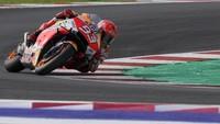 MotoGP Emilia Romagna 2021: Marquez Menang, Bagnaia Jatuh, Quartararo Keempat