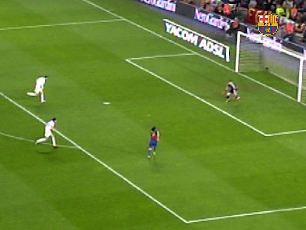 Video: Nostalgia Gol Pertama Messi dalam El Clasico