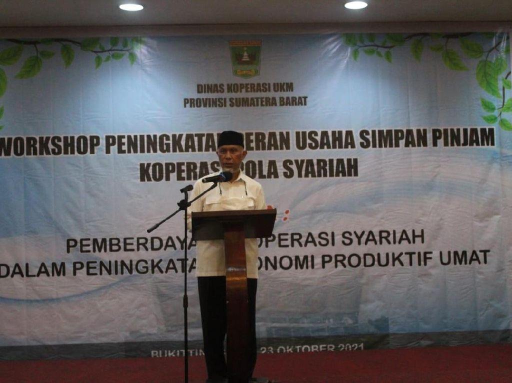 Gubernur Sumbar Ajak Masyarakat Dukung Koperasi Pola Syariah