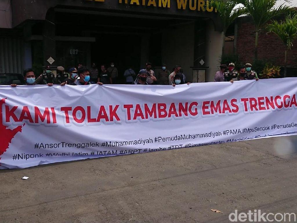 Aktivis Demo Tolak Tambang Emas Trenggalek, Ini Tanggapan Perusahaan