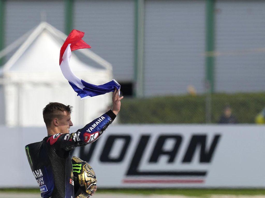 Quartararo Juara Dunia MotoGP 2021, Presiden Prancis Kasih Selamat