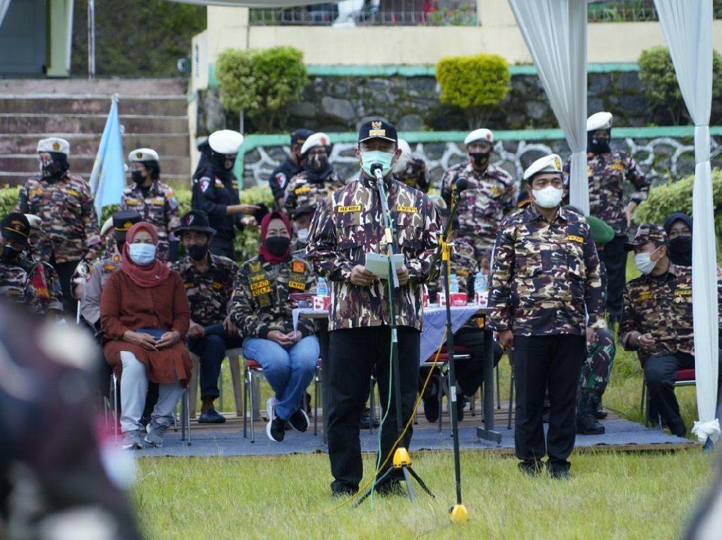 HendiHarap FKPPI Jadi Garda Terdepan Sukseskan Penanganan Pandemi