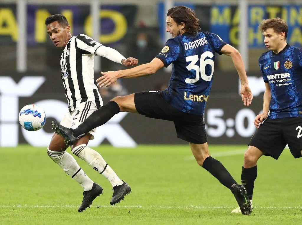 Inter Milan Vs Juventus Tuntas 1-1, Penalti Selamatkan Bianconeri