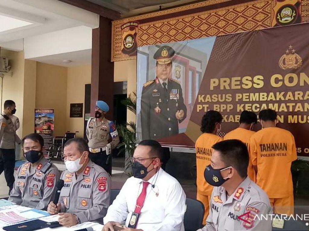 Kasus Pos Jaga Perusahaan di Muba Sumsel Dibakar, 3 Orang Ditangkap!