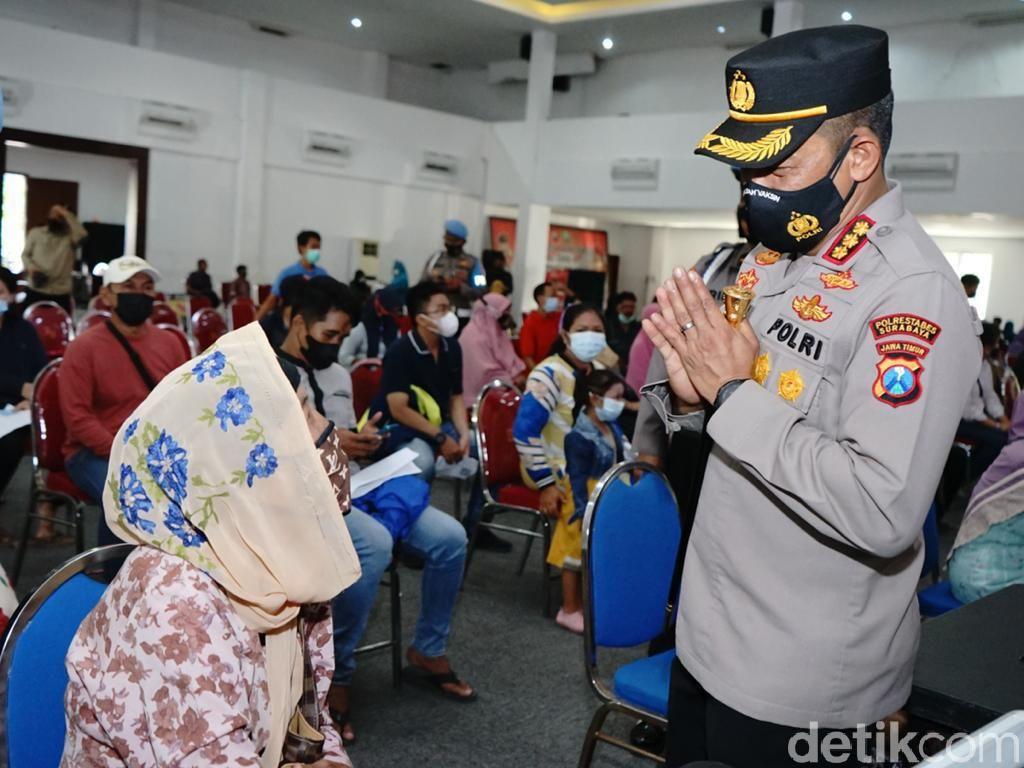 4.500 PKL dan Warung di Surabaya Terdampak Pandemi Dapat Bantuan Rp 1,2 Juta