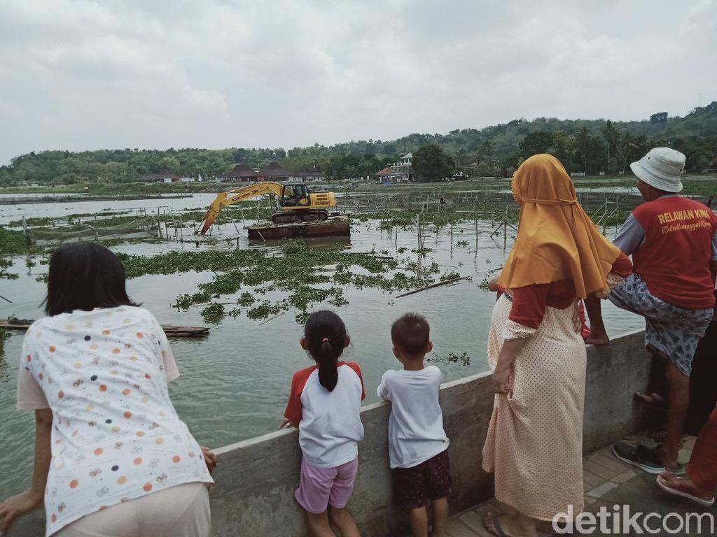 3 Ekskavator Diterjunkan ke Rawa Jombor Klaten, Buat Apa?
