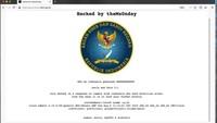 BSSN Akui Situs Resmi Miliknya Diretas