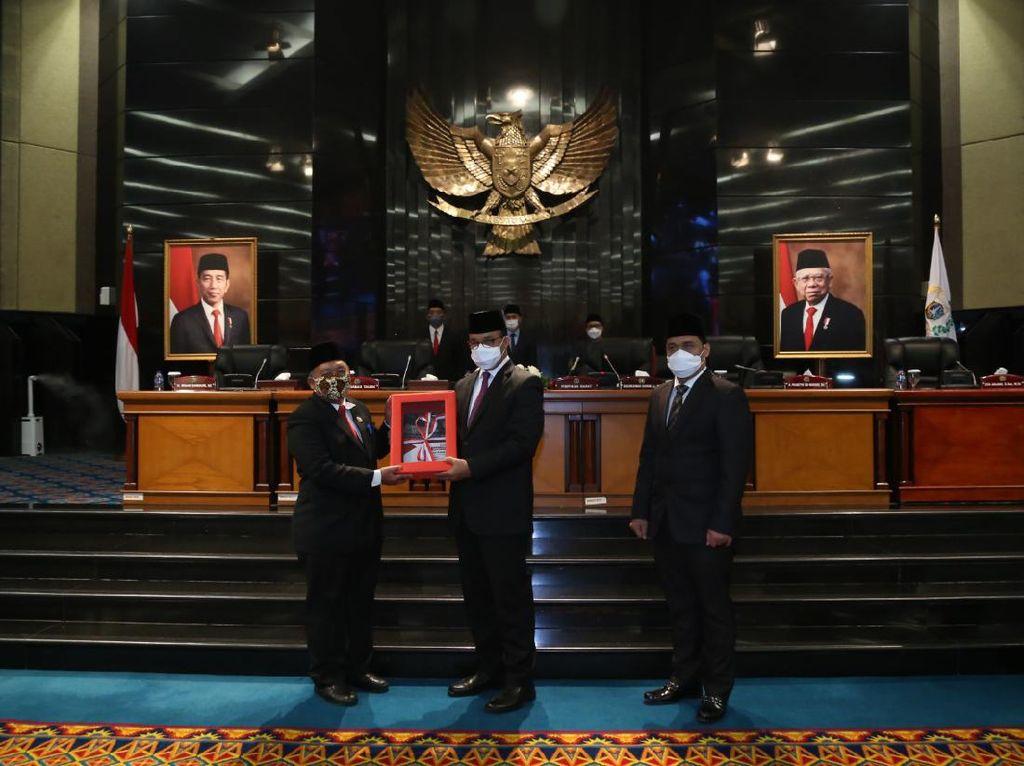DPRD DKI Sahkan APBD Perubahan 2021 Jadi Rp 79,89 Triliun