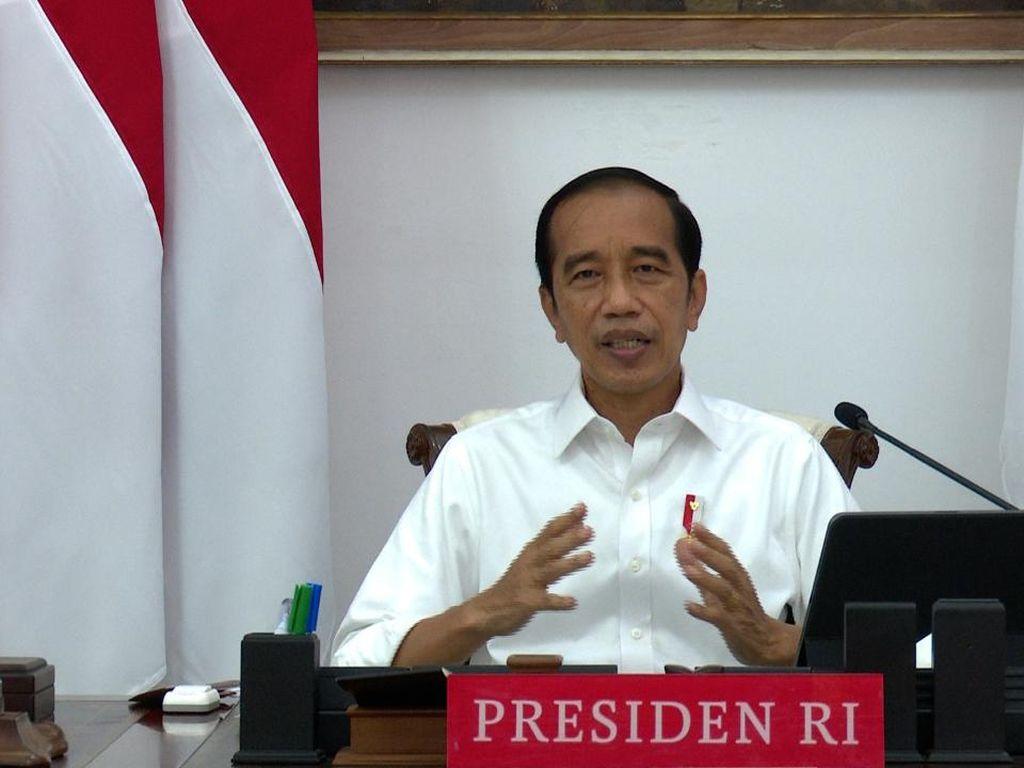Waspada Lonjakan COVID, Jokowi: Kenaikan Itu Ada Meskipun Kecil
