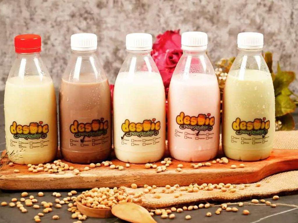 Manisnya Bisnis Susu Kedelai Rumahan, Datangkan Cuan Jutaan Per Bulan