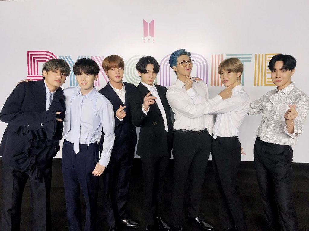 BTS Masuk Nominasi GRAMMY Awards 2022, Ini yang Mereka Lakukan Bila Menang